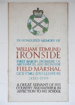 Field Marshal Lord Ironside (1880 - 1959)